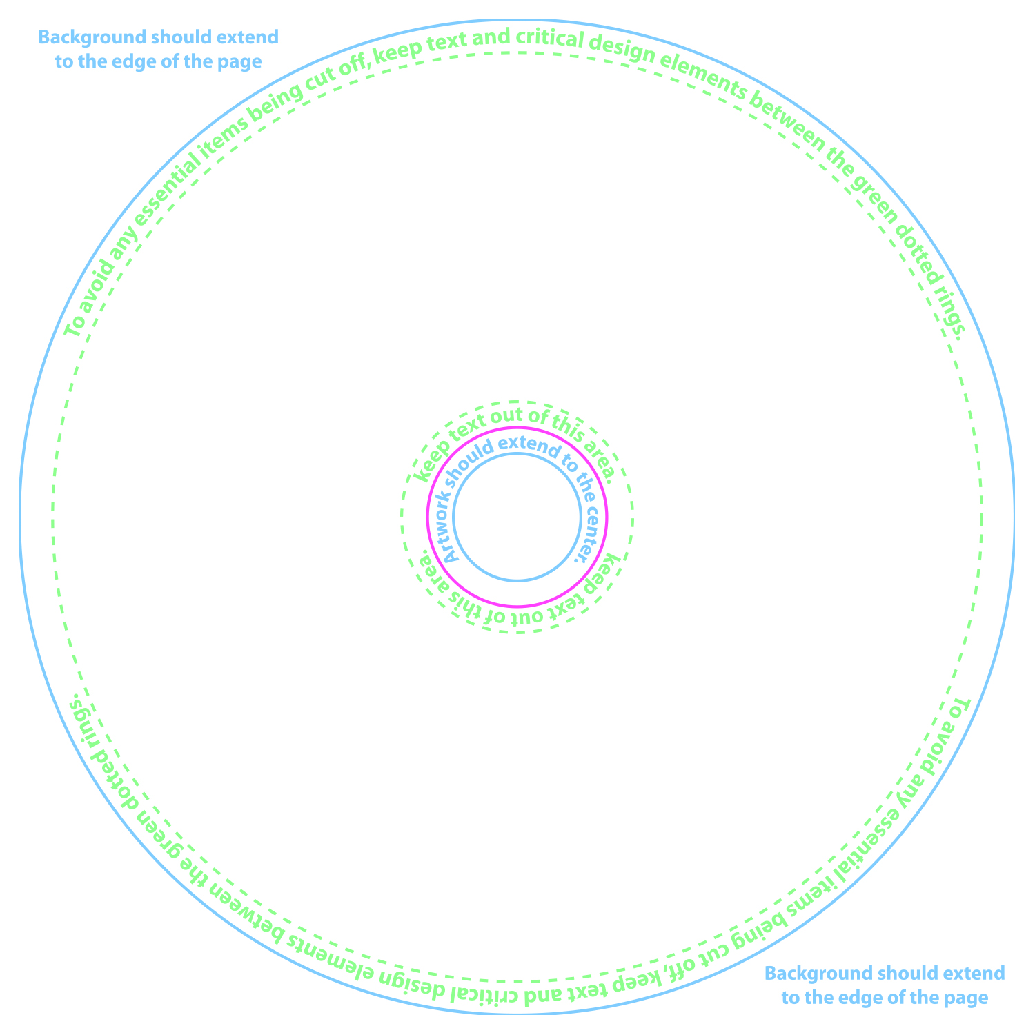 Circular Cd Template 5 Photo Ilrator